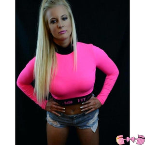 FFAB Spandex Crop - Fit For A Belle