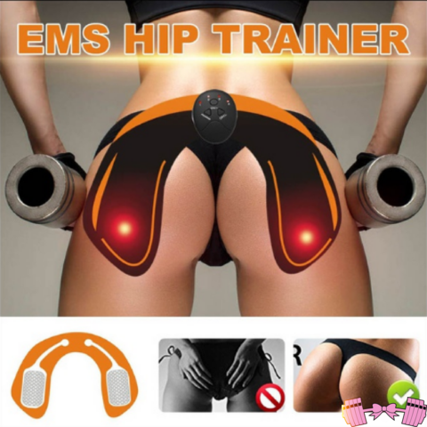Pink EMS Glute Hip Lifting | Booty Workout Machine fitness accessories- FitForABelle.com
