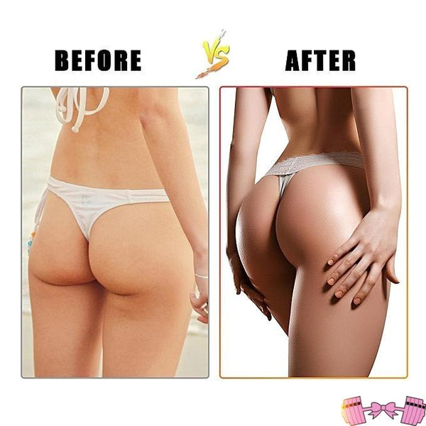 Ever wondered how you could do glute exercises without exercise or weights? Need to know how to get a butt fast, with minimal effort? Look no more! This must have product is PERFECT for the lazy girl who's looking to get that hour glass shape and round bubble butt glutes practically over night!