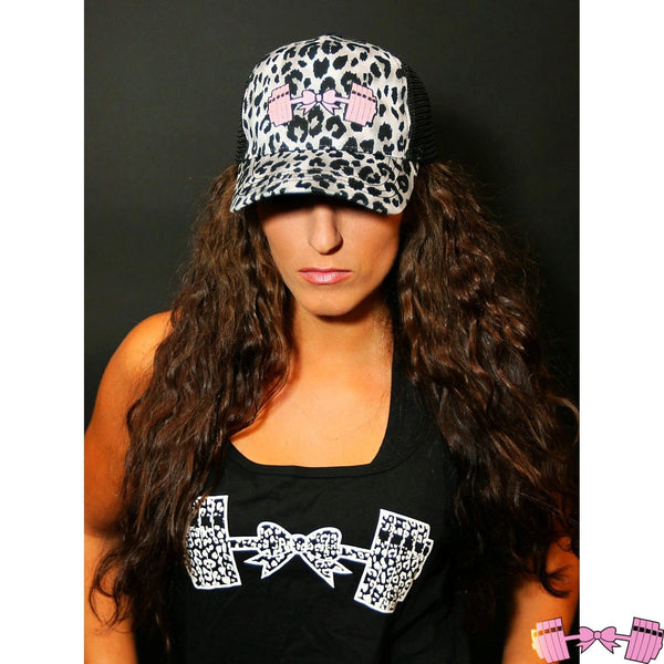 Snow Leopard Baseball Hat - Fit For A Belle