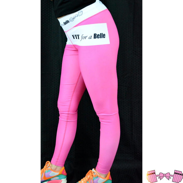 Fit For A Belle PINK Leggings - Fitforabelle  - 1