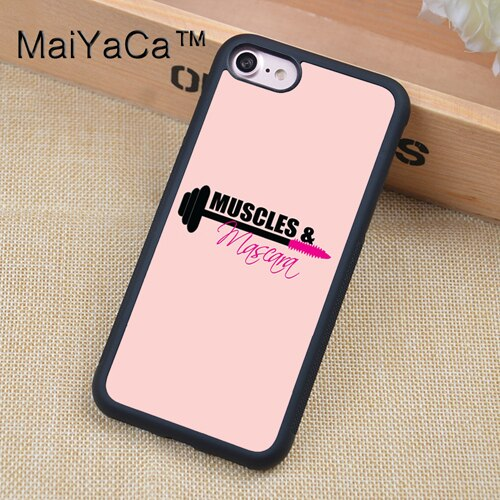 Motivational Gym Fitness Quotes Soft Rubber Mobile Phone Case