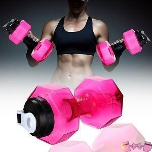 Dumbbells 2 in 1 Anywhere Hydration and Workout Weights - Fit For A Belle