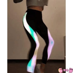 Watch Me Glow Workout Leggings - Fit For A Belle