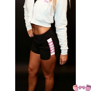 FFAB Logo Athletic Shorts - Fit For A Belle