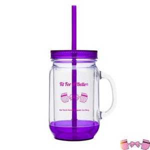FFAB 20 Ounce Mason Jar Accessories- FitForABelle.com