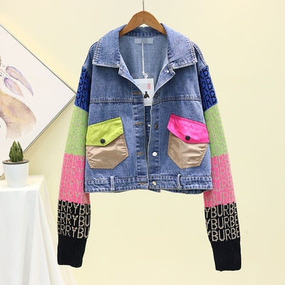 BUR*ERRY Denim Jacket