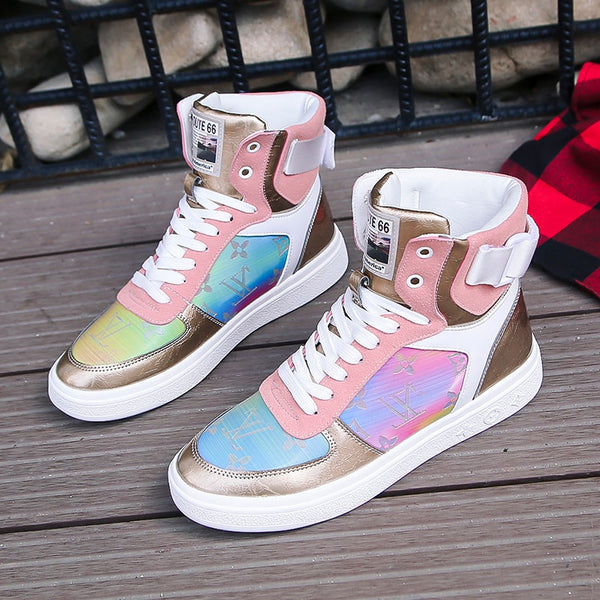 LV WILL SELL OUT Fashion Sneakers Vulcanized Shoes Women Casual Shoes Students Shoes
