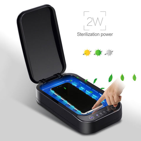 Multi-function Sterilizer Ultraviolet Disinfection Sterilizer Box for Masks Mobile Phones Makeup Tools Etc.