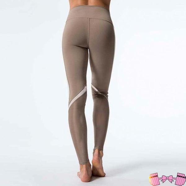 Cashmere Color Nude Yoga Pants For Women
