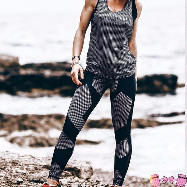 Little Black Leggings activewear- FitForABelle.com