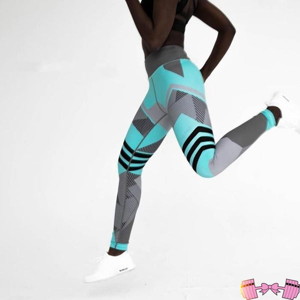 Neon Choas Spandex Leggings - Fit For A Belle