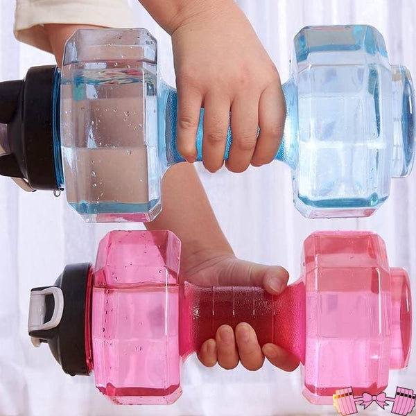 Dumbbells 2 in 1 Anywhere Hydration and Workout Weights Accessories- FitForABelle.com
