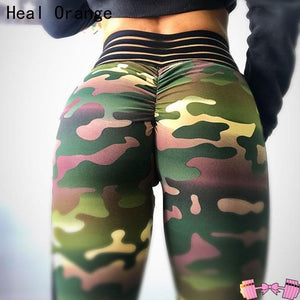 Camo We Not Yoga Athletic Spandex Leggings (Squat proofed!) - Fit For A Belle