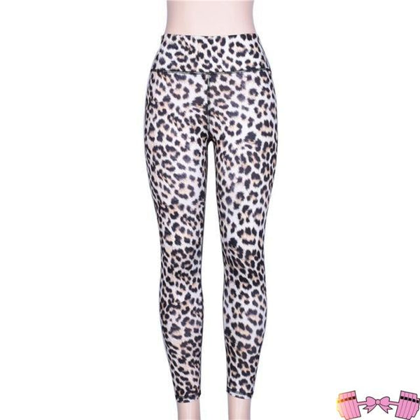 Make Me Meow High Waist Fit Fashion Leopard Leggings