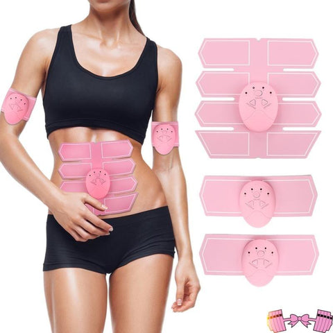 Pink Fast Abs Muscle 6 Pack/Oblique Trainer - Fit For A Belle