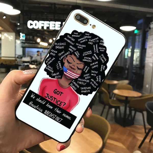 Melanin Poppin Phone Case Cover For iphone