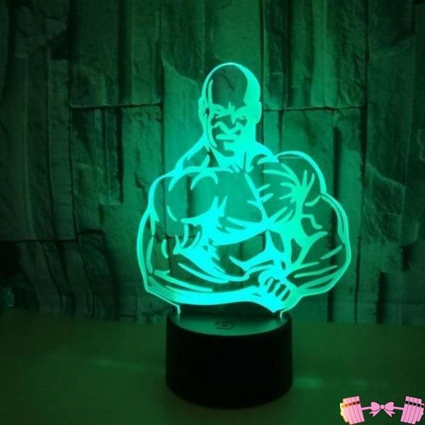 Dumbbell Fitness  Table Lamps- Led Visual Gift 3