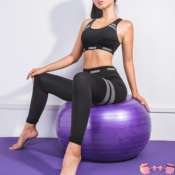 2019 Women Yoga Set Fitness Suit GYM Sportswear activewear- FitForABelle.com