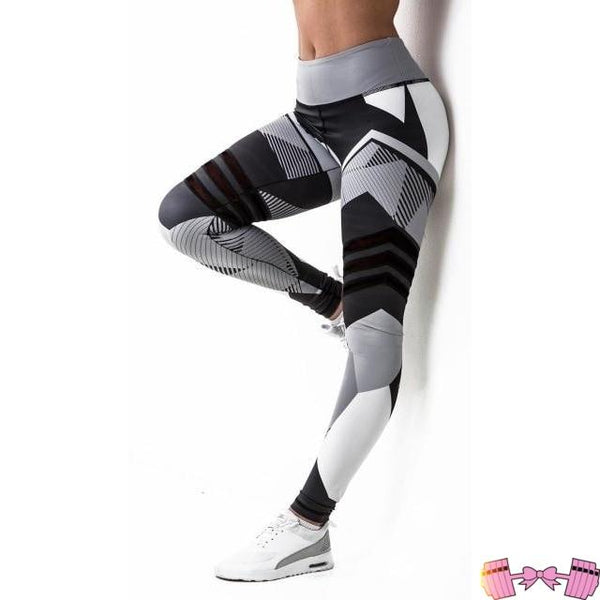 Purple Leopard Women's Yoga Pants Activewear Bottoms- FitForABelle.com