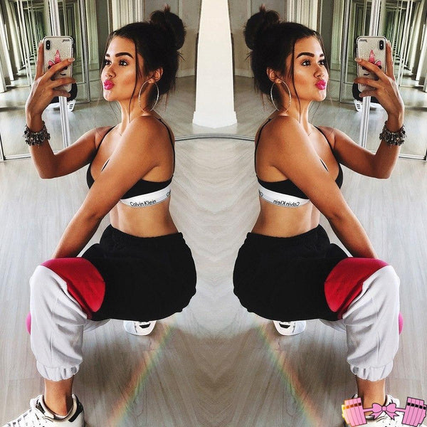 Fitness Sporty Chic Gym Trousers For Women apparel- FitForABelle.com