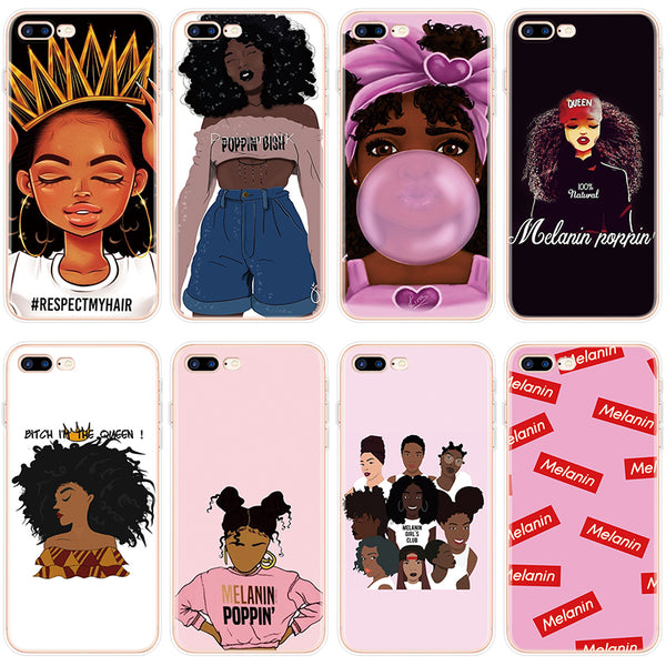 Black Girl Melanin Poppin Aba Case For iPhone