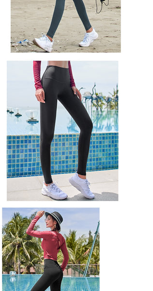 High Waist Tummy Control Tights Leggins Women Seamless Sport Leggings For Fitness Sportswear Woman Gym Yoga Pants Sports Wear