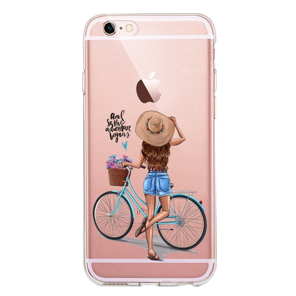 Boss Babe Coffee Soft Silicone TPU phone Case For iPhone