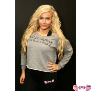 "FFAB ""Grits & Glamour"" Cropped Pullover - Fit For A Belle"