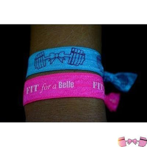 FFAB Blue Hairtie Accessories- FitForABelle.com