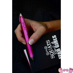 FFAB Barbell and Bow Logo Pen - Fitforabelle  - 2