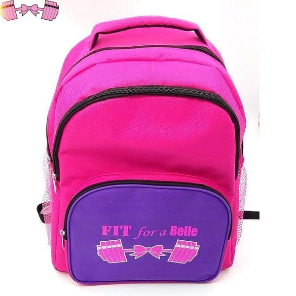FFAB Logo Backpack - Fit For A Belle