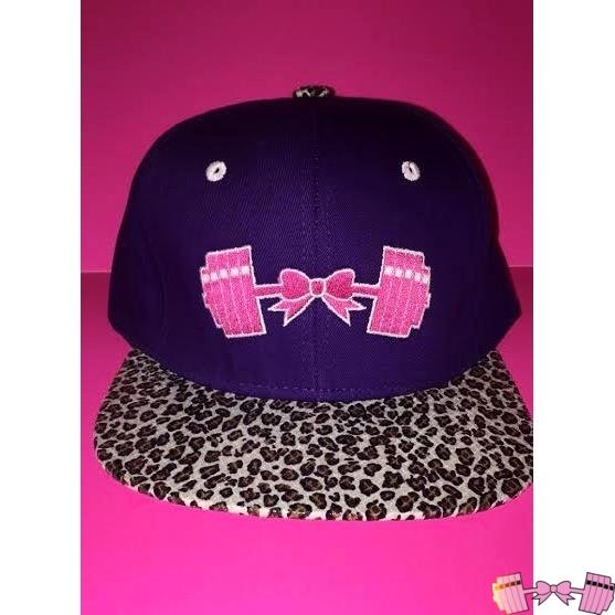 FFAB Purple Cheetah Snapback - Fit For A Belle