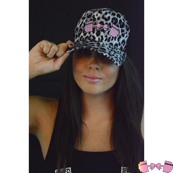 Snow Leopard Baseball Hat Accessories- FitForABelle.com
