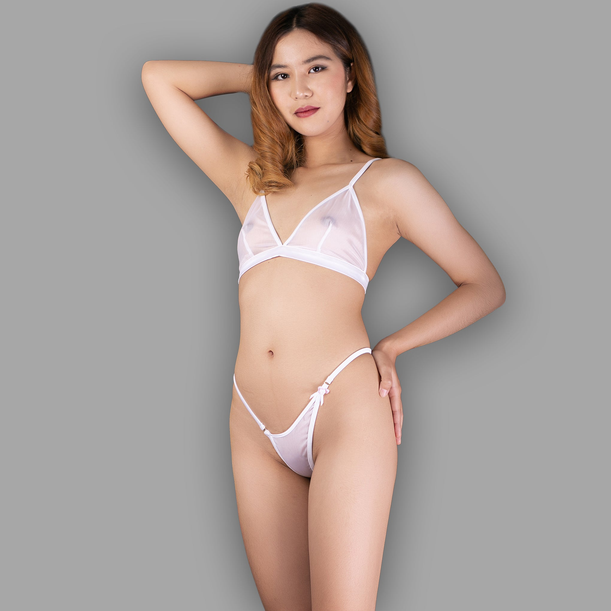 G string sexy pics Sheer Lingerie Panties See Through G String Sexy Erotic Gift For Her Thong In Sheer White Ange Dechu