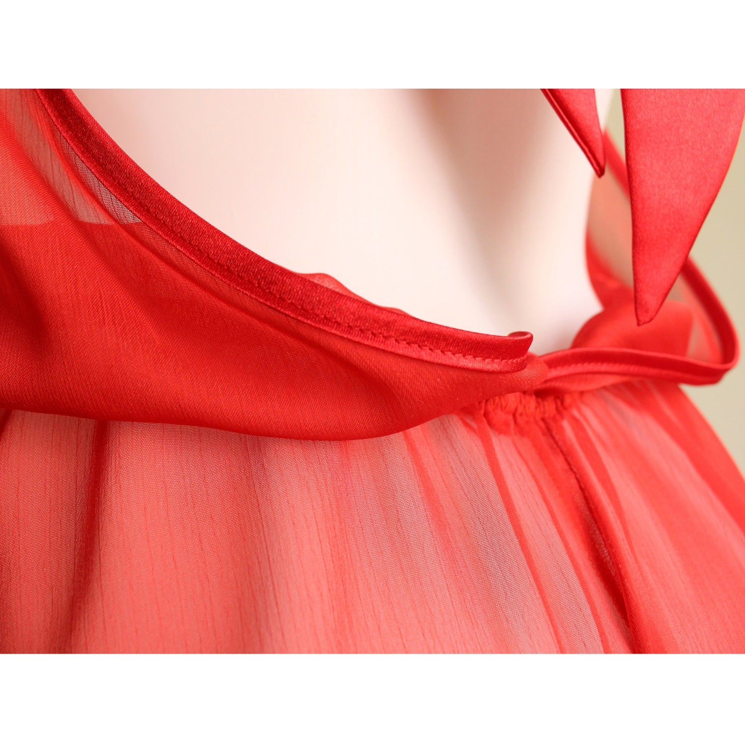 Sheer lingerie Backless Red See through Erotic Lingerie sexy Teddy Play Suit