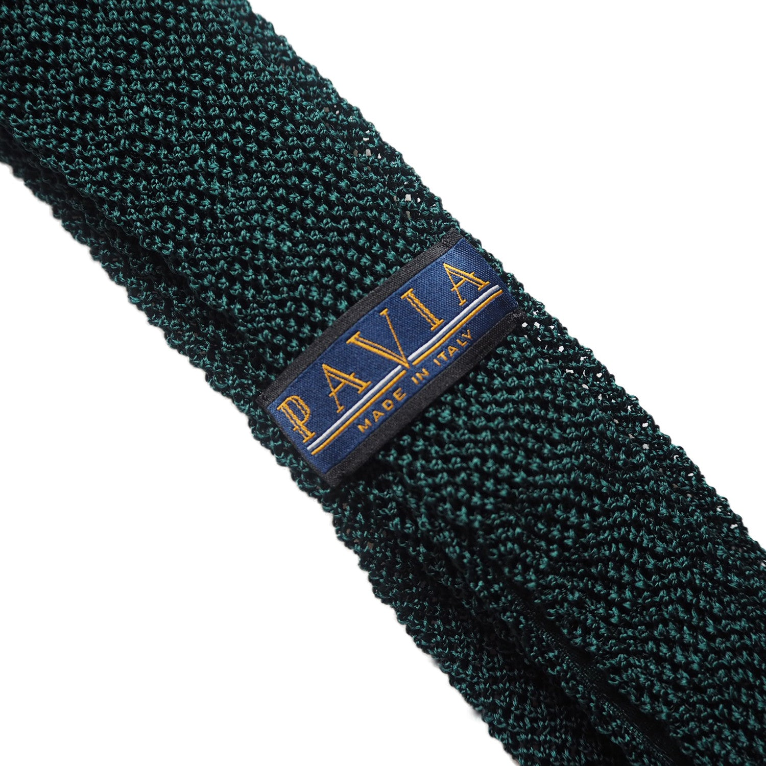 DEEP FOREST GREEN KNIT TIE