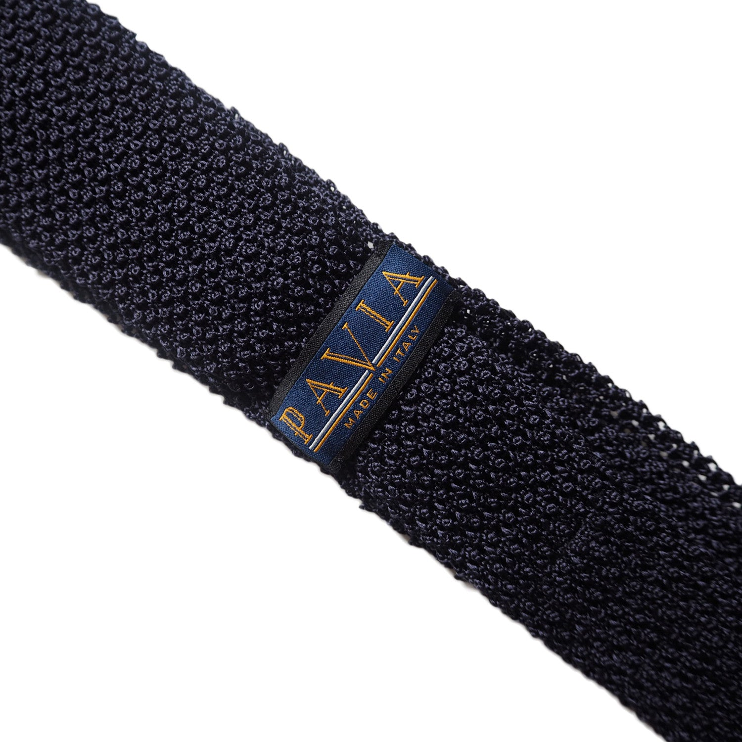 MID NIGHT BLUE KNIT TIE