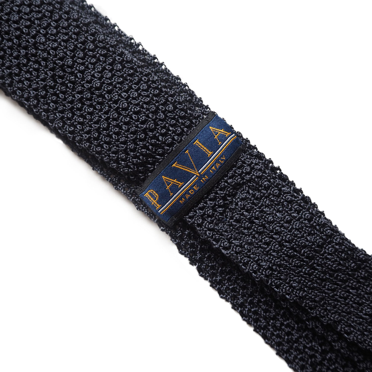 EXCLUSIVE BLACK KNIT TIE