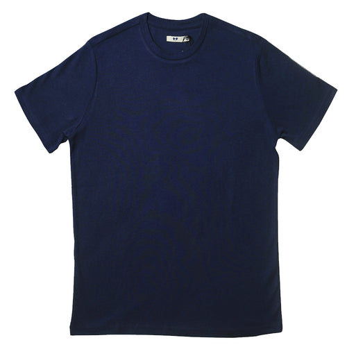 NAVY BLUE BAMBOO T-SHIRT