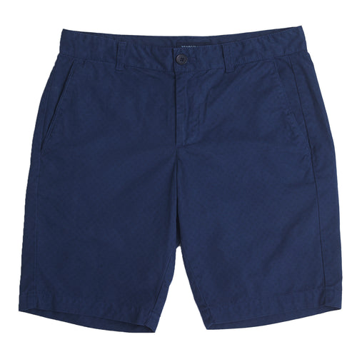 CHINO SHORTS PRINTED IN DARK NAVY