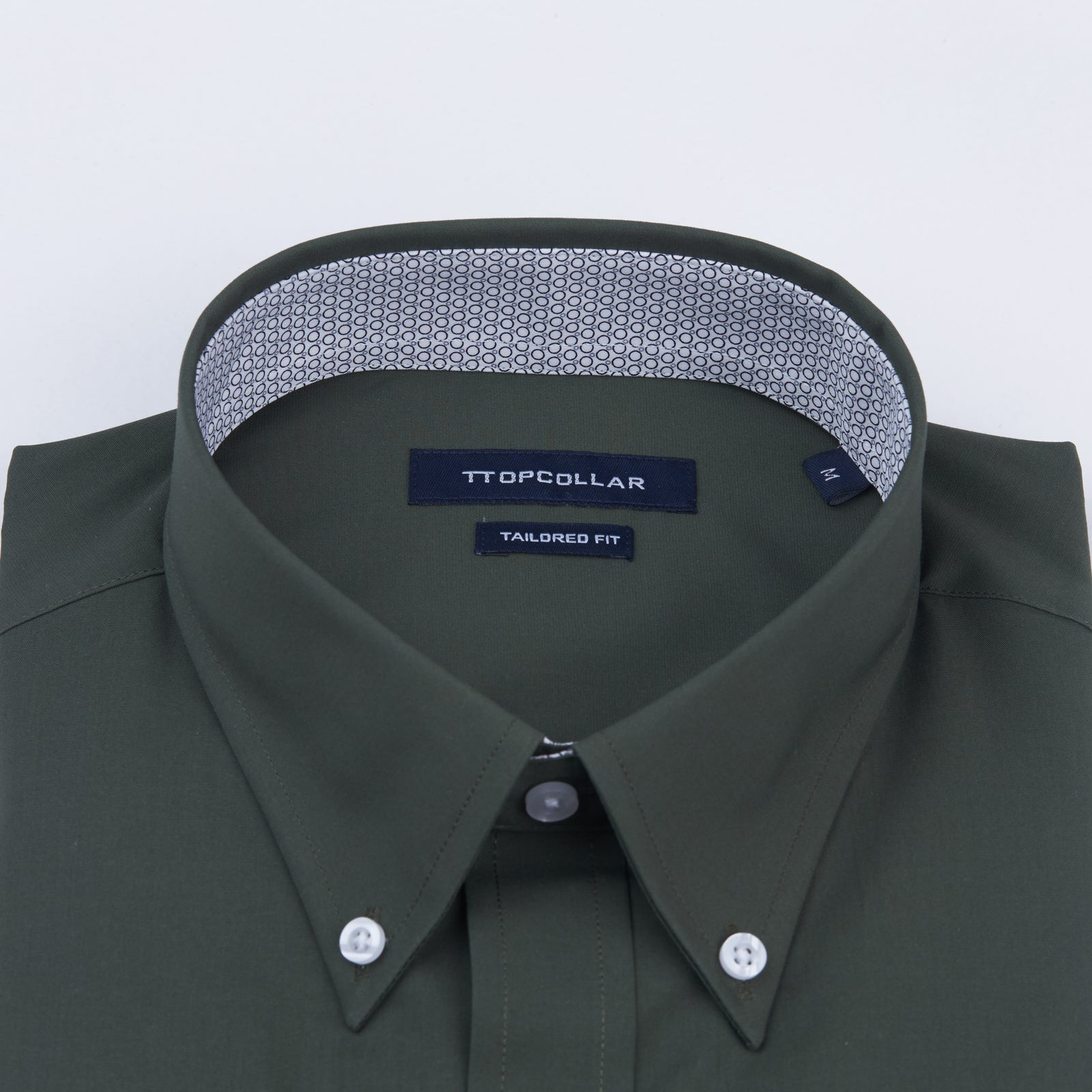 LONG SLEEVE EMERALD GREEN SHIRT
