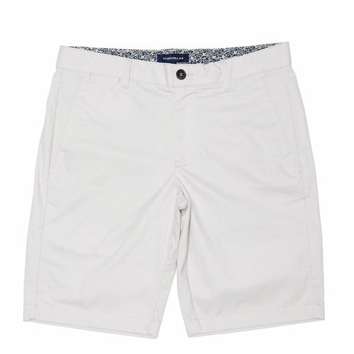 CHINO SHORTS IN  WHITE GREY