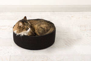 Introducing the durable Corda rope basket for cats