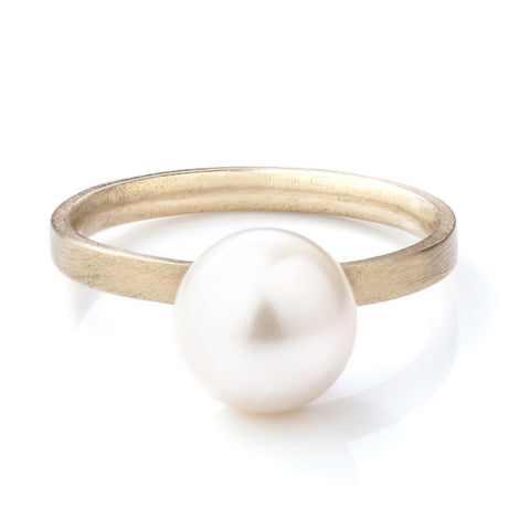 Akoya Pearl 9ct Yellow Gold Ring