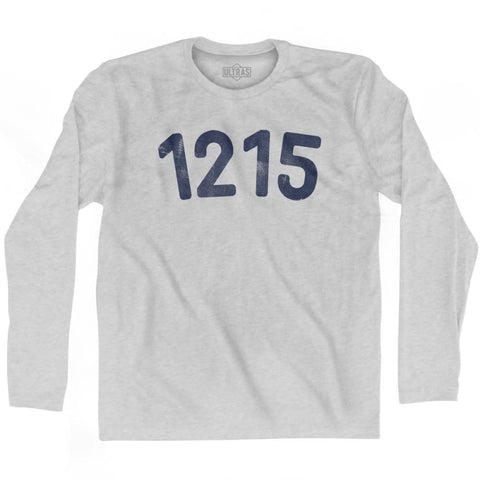 1215 Year Celebration Adult Cotton Long Sleeve T-shirt - Year Celebration