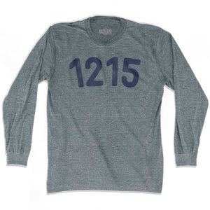 1215 Year Celebration Adult Tri-Blend Long Sleeve T-shirt - Year Celebration