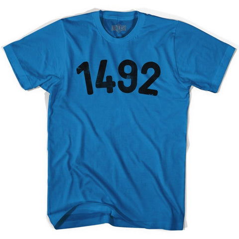 1492 Year Celebration Adult Cotton T-shirt - Year Celebration