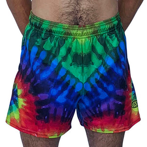 Tie Dye Rugby Shorts