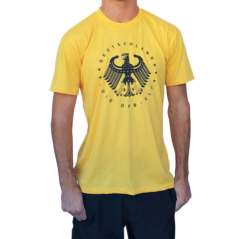Germany Deutschland Vintage Eagle Soccer T-shirt
